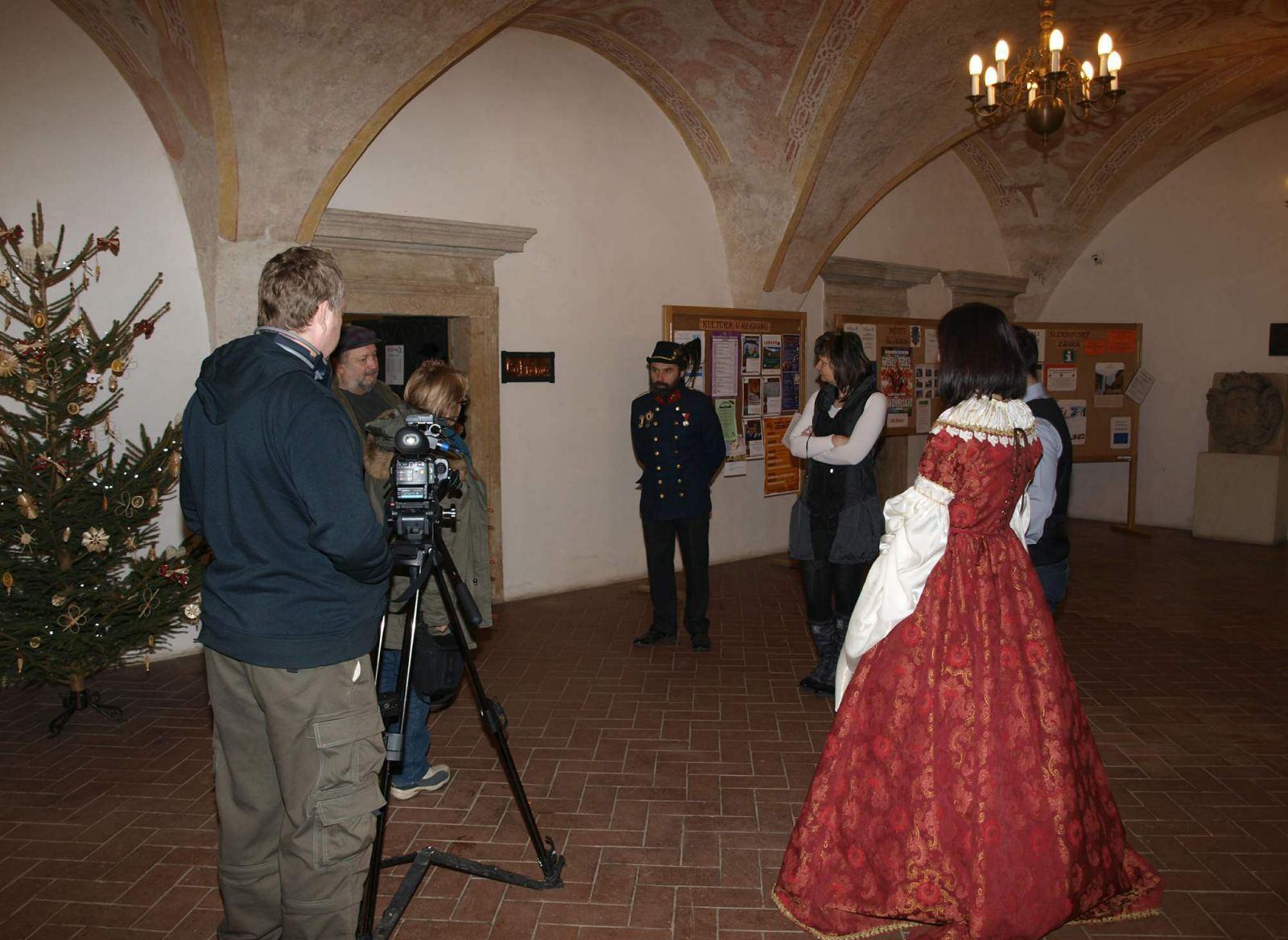 Šluknovský zámek v Toulavé kameře na ČT1