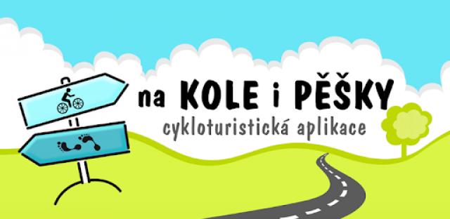 """Cykloturistická aplikace """"Na kole i pěšky"""""""