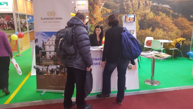 Prezentace města na veletrzích cestovního ruchu Holiday World Praha 2020 a České Švýcarsko a Lužické hory