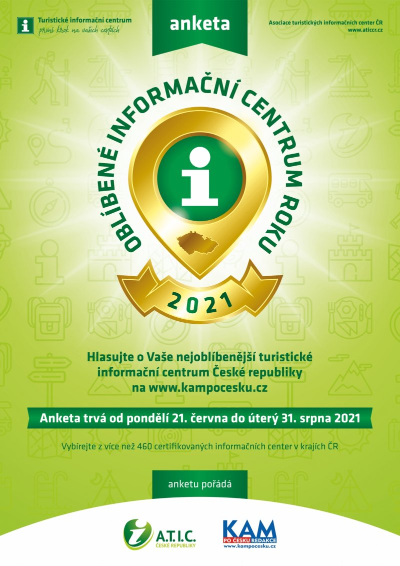 Anketa Oblíbené informační centrum roku 2021
