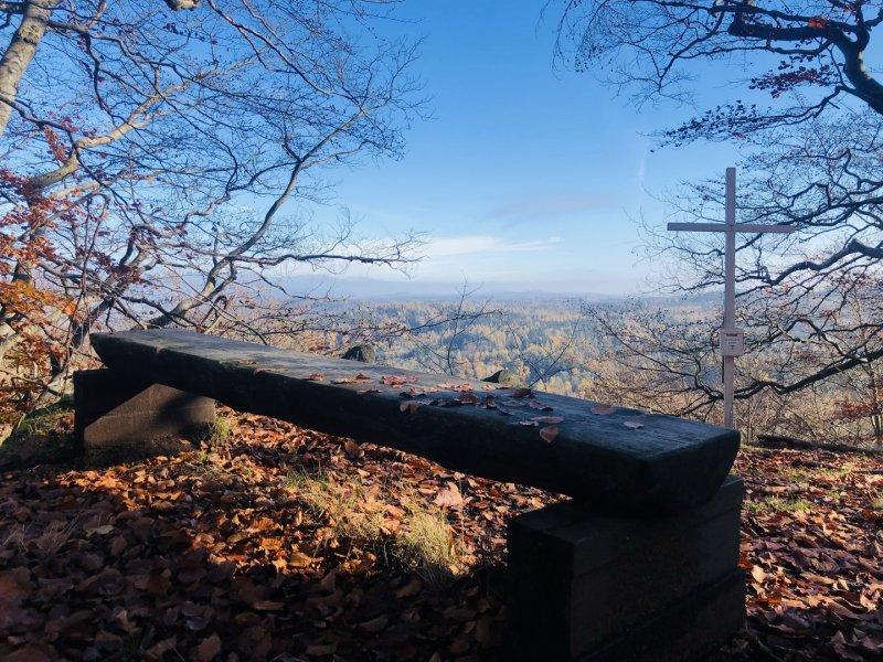 Za nejvyšším vrcholem Šluknovské pahorkatiny