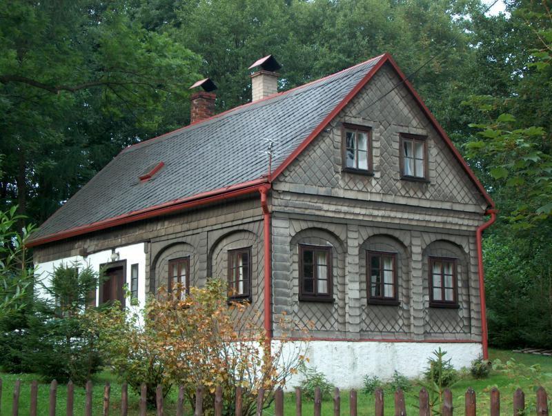 Lidová architektura - podstávkové domy