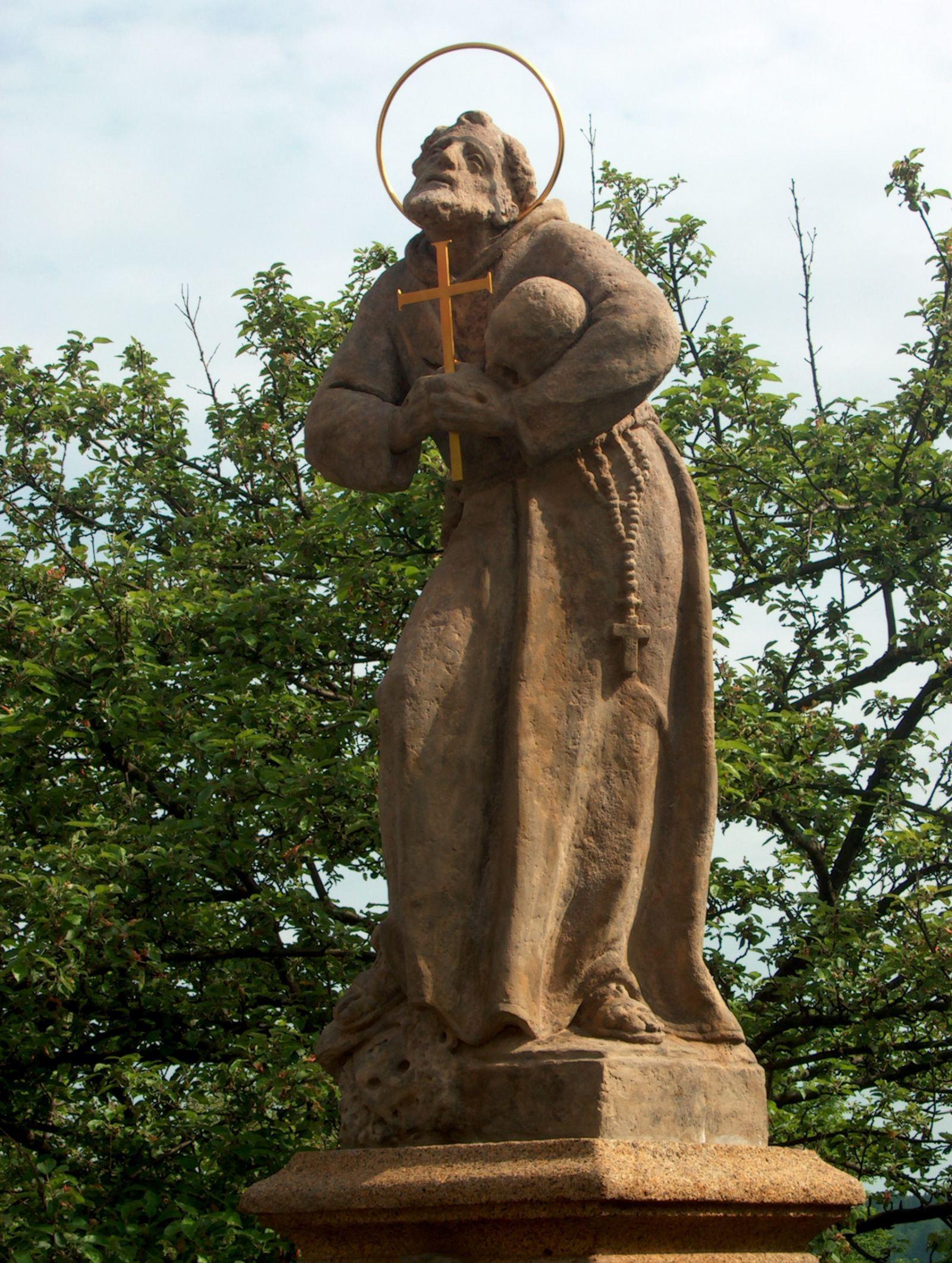 Socha sv. Františka z Assisi