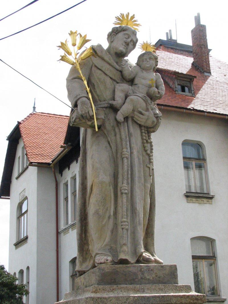 Barokní pískovcové sochy